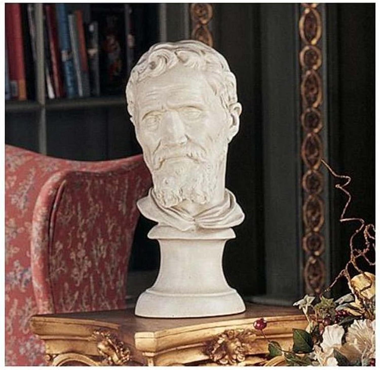 Design Toscano Michelangelo Buonarredi Bust