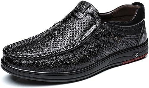 Z.L.F Chaussures Oxford Oxford Classiques Chaussures en Cuir véritable pour Hommes  vente