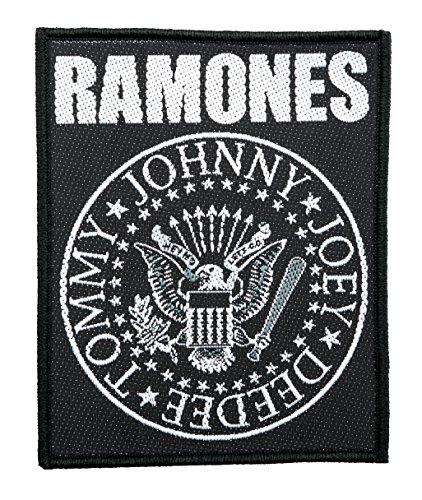 The Ramones Seal Logo Aufnäher Patch - Gewebt & Lizenziert !!