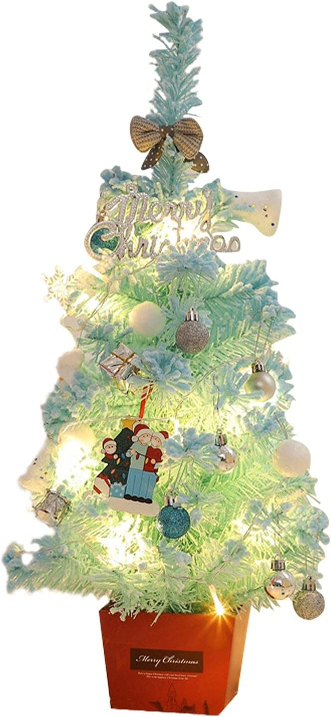 EKDJKK Tabletop Mini Christmas Tree with String New mail 67% OFF of fixed price order Arti Light