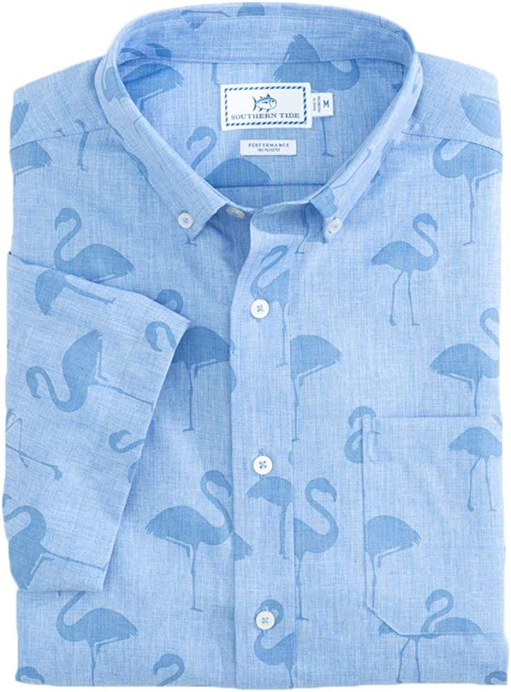 Southern Tide All items free shipping Dealing full price reduction Flamingo Dock Shirt