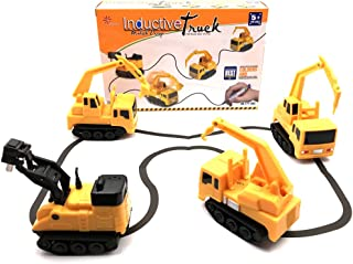 Magic Inductive Car Inductive Truck Magic Toy Car Follow Any Drawn Line Battery Included
