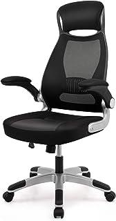 IntimaTe WM Heart Chaise De Bureau en Maille Fauteuil De Direction Ergonomique Grande Taille avec Accoudoirs Pliables Haut...