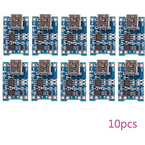 10pcs 1A 5V Mini USB TP4056 Lithium-Batterie-Energien-Aufladeeinheits-Vorstand-Modul