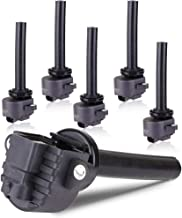 ECCPP Ignition Coils Pack of 6 Compatible with Honda Passport Isuzu Amigo/Axiom/Rodeo/Rodeo Sport/Trooper 2000-2004 Replacement for UF252 C1255