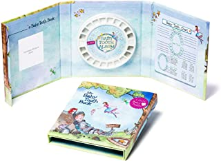 Baby Tooth Album - Tooth Keepsake Flap Book - Fairy Boy - Tooth Fairy Land, Blue