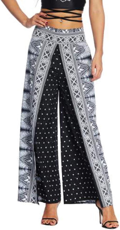KEVIN POOLE Yoga Pants Big Size was Thin Women's WideLeg Sports Pants (Size   L XL)