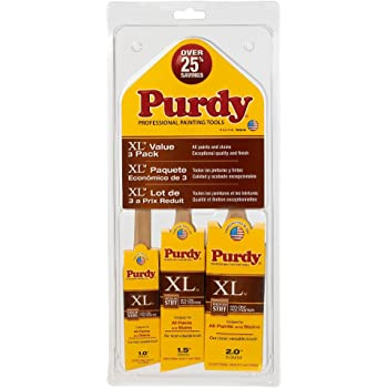 Purdy 140853100 XL Brush 3 Pack