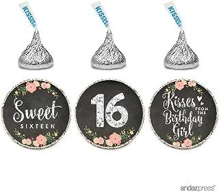 sweet 16 label templates