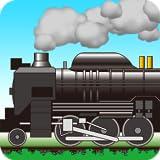 きしゃぽっぽ。【蒸気機関車を走らせよう】SL 電車 新幹線