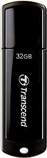 Transcend USBメモリ 32GB USB 3.1 キャップ式 ブラック TS32GJF700