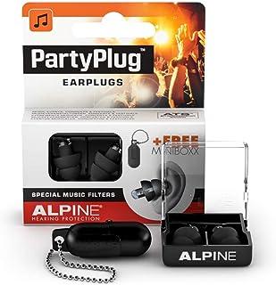 Alpine PartyPlug Bouchons d'oreilles : protections auditives pour la musique (fêtes, festivals et concerts) - Restitution ...