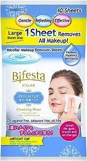 Bifesta Cleansing Sheet, Brightup, 10s