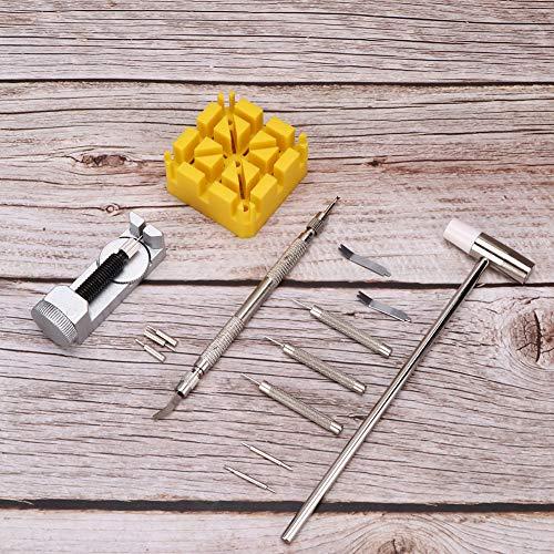 14-teiliges Uhrenreparaturset, Reparaturset für Uhrenarmbänder, professionelles Hardware-Werkzeug Entfernen Sie das Armband für Uhrmacher für Reparaturwerkzeuge für...