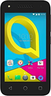Alcatel 3G H+ Unlocked 4 inch 8MP Quad Core Factory Unlocked Worldwide Desbloqueado (Black, 1E Oreo Version)