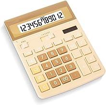 $47 » Style wei Office Calculators Calculator 12 Digit Desk Calculator Large Buttons Solar Desktop Calculator for School Home Of...