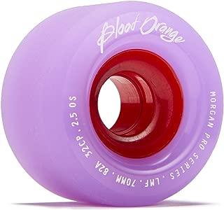 Blood Orange Liam Morgan Formula Longboard Wheels - 70mm 82a - Lavender