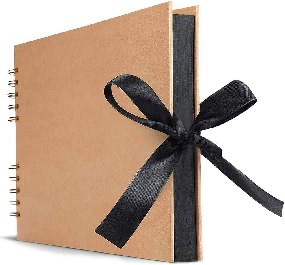 HUMINGG New product! New type Photo Album Albums 80 Memory Pages A4 Books Online limited product Black