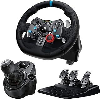 Logitech G29 Driving Force Feedback Racing Wheel Shifter付き シフター ドライビングフォース ロジテック  レーシングホイール 輸入品