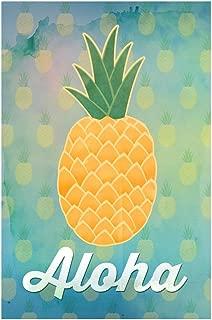 Aloha Pineapple Art Print Cool Huge Large Giant Poster Art 36x54