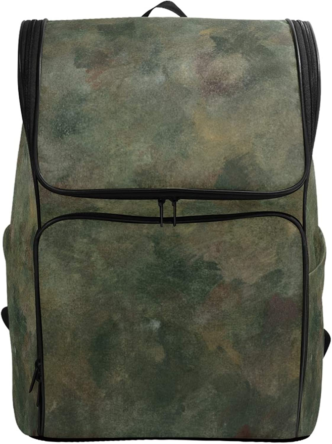 FANTAZIO Abstract European Textures Laptop Outdoor Backpack Travel Hiking Camping Rucksack Pack, Casual Large College School Daypack