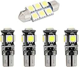 DBL Super Bright LED Interior Replacement Light Bulbs Kit for Land Rover Range Rover Error Free Car Lamp Source White Pack of 12