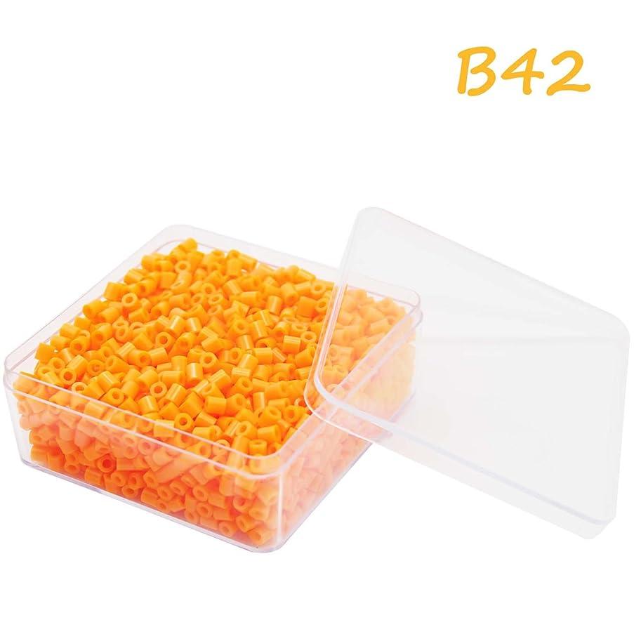 H&W 5mm Fuse Bead Refill Box - Orange 1750 Count (WA4-B42)
