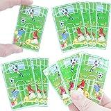 German-Trendseller - 12 x Kinder - Fussball - Spiele Mix ┃ NEU ┃ Kindergeburtstag ┃ Mitgebsel ┃ 12 Stück