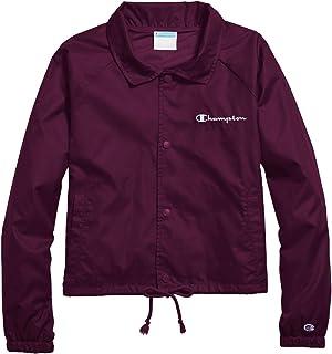 Champion Womens J0334 Heritage Woven Coaches Jacket Long Sleeve Jacket