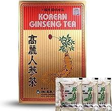 Original Korean Ginseng Tea Instant 0 1oz 3g 100 Packets with Korean Red Ginseng Tea 0 1oz 3g 3 Packets Estimated Price : £ 25,00