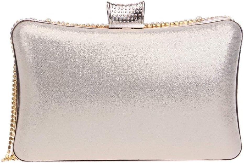 Zhong$chuang Cristal De Mode pour Femmes Strass Nuit Pochette De Mariage Portefeuille Flash Diamant Gland Mini Portefeuille A