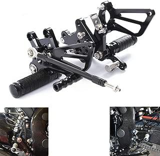 Krace Motorcycle Front Rearset FootPegs Footrest Rear Set For Suzuki GSXR1000 2000-2004