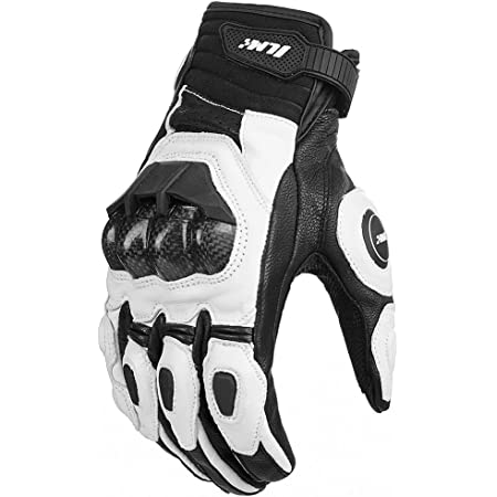 Cortech Impulse ST Adult Street Bike Motorcycle Gloves White//Red//Small