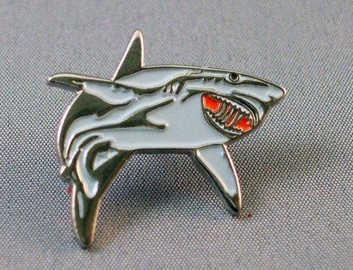 Mainly Metal Métal Émail Broche Great White Shark (Pin) (Nemo : Bruce)