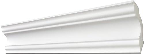 Decosa Moulure A80 (Stephanie), 80 x 80 mm longueur 2 m - GROS CONDITIONNEMENT, 20 pièces