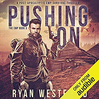Pushing On audiobook cover art