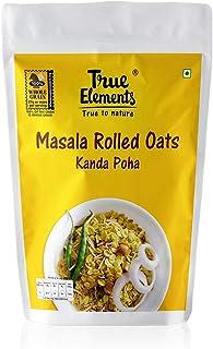 True Elements Masala Rolled Oats Kanda Poha 500g.