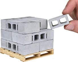 Acacia Grove Mini Cinder Blocks with Pallet, 1/12 Scale (24 Pack)