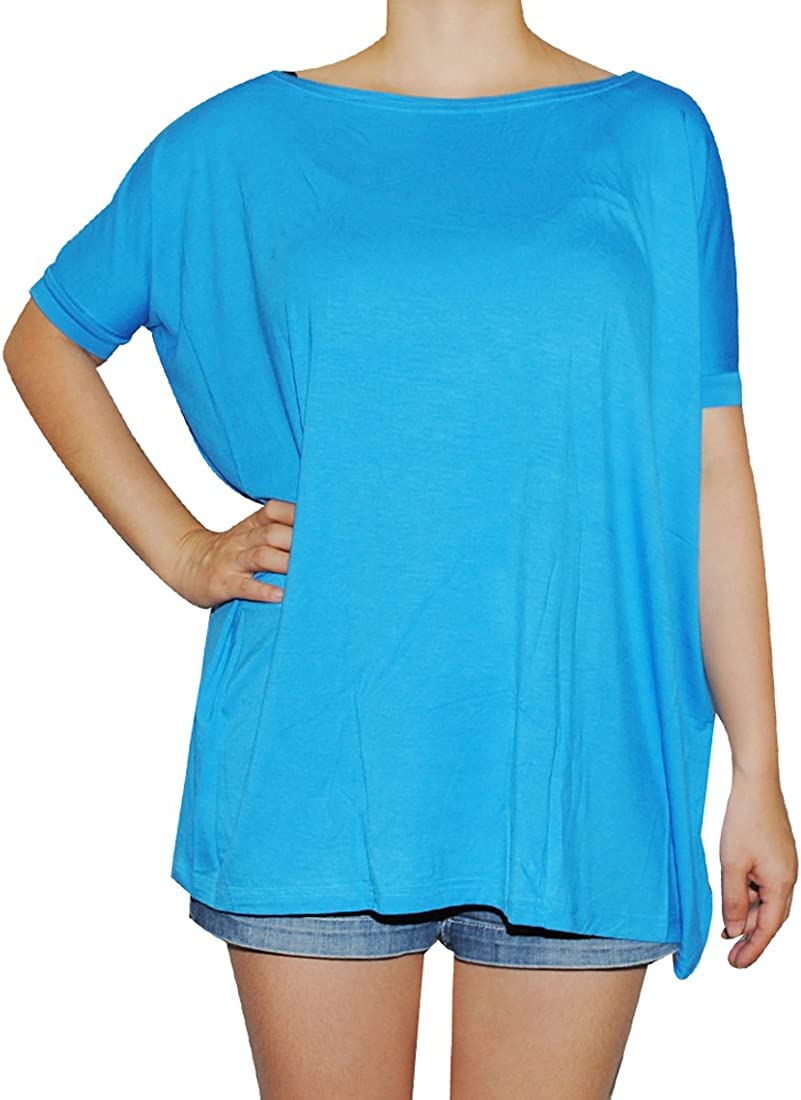Piko Womens Famous Short Sleeve Bamboo Top Loose Fit
