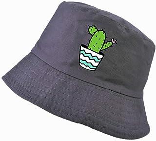 Shiming M/änner und Frauen Sommer im Freien Sonne wasserdicht Hut Angeln Hut Hut wandern Faltbare Eimer Hut