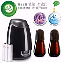 Air Wick Essential Mist, Essential Oil Diffuser, (Diffuser + 2 Refills), Lavender &..