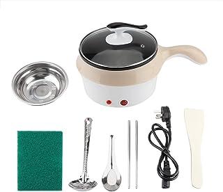 Jadeshay Mini Casserole électrique Haute Qualité Dortoir Pot/Casserole Électrique Poêle Wok Cuisson Pot De Nouilles Kaki 2...