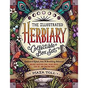 The Illustrated Herbiary Collectible Box Set: Guidance and Rituals from 36 Bewitching Botanicals; Includes Hardcover Book, Deluxe Oracle Card Set, and Carrying Pouch (Wild Wisdom)