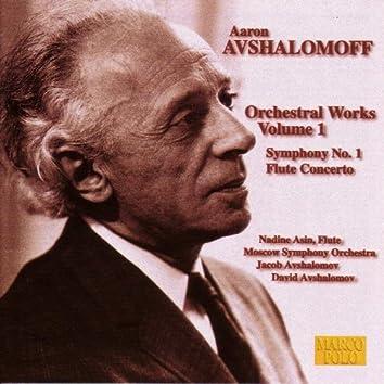 AVSHALOMOFF: Flute Concerto / Symphony No. 1