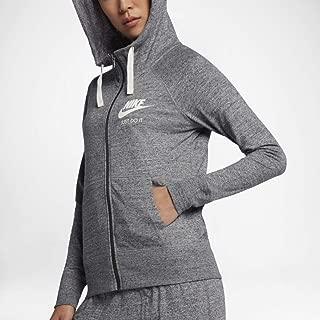 Nike Women's Sportswear Hoodie Carbon Heather/Sail Size XX-Large