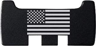 NDZ Performance for Glock Rear Ambi Speed Slide Racker Plate MOS Optics Black for Gen 1-5 Most Models Laser Engraved Image: US Flag