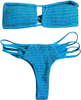 Boutique Swimsuit, 2019 Sexy Womens High Waist Bandage Bikini Set Swimwear Beach Swimsuit Monokini
