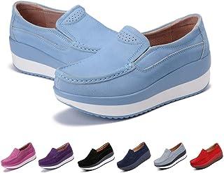 Para M8nvwn0o Mocasines Mujery Zapatos Esmango Amazon vN8O0nwm
