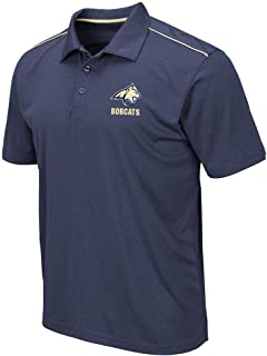 Mens Montana State Bobcats Eagle Short Sleeve Polo Shirt