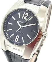 (ブルガリ)BVLGARI EG35S エルゴン デイト 自動巻き 腕時計 SS/革ベルト ボーイズ 中古
